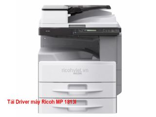 Driver máy photocopy Ricoh MP 1813L