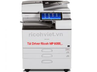 Driver máy photocopy Ricoh MP 2555/3055/3555/4055/5055/6055 series
